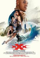 xXx: Return of Xander Cage - Argentinian Movie Poster (xs thumbnail)