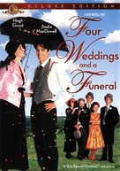 Four Weddings and a Funeral - DVD cover (xs thumbnail)