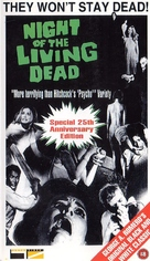 Night of the Living Dead - British VHS cover (xs thumbnail)