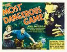 The Most Dangerous Game - Movie Poster (xs thumbnail)