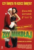 Bad Santa - Polish Movie Poster (xs thumbnail)