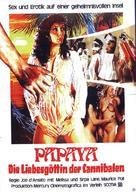 Papaya dei Caraibi - German Movie Poster (xs thumbnail)