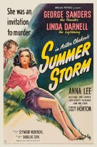 Summer Storm - Movie Poster (xs thumbnail)