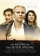 Der Mann der über Autos sprang - German Movie Poster (xs thumbnail)