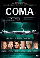 """""""Coma"""" - DVD movie cover (xs thumbnail)"""