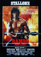 Rambo: First Blood Part II - Danish Movie Poster (xs thumbnail)