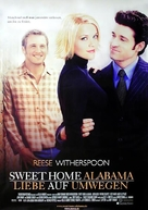 Sweet Home Alabama - German Movie Poster (xs thumbnail)