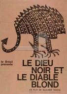 Deus e o Diabo na Terra do Sol - French Movie Poster (xs thumbnail)