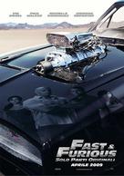 Fast & Furious - Italian Movie Poster (xs thumbnail)
