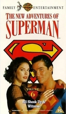 """""""Lois & Clark: The New Adventures of Superman"""" - British VHS movie cover (xs thumbnail)"""