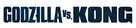 Godzilla vs. Kong - Logo (xs thumbnail)