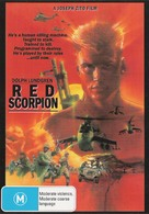 Red Scorpion - Australian DVD cover (xs thumbnail)
