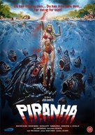 Piranha - Danish Movie Cover (xs thumbnail)