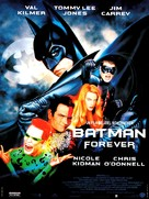 Batman Forever - French Movie Poster (xs thumbnail)