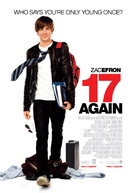 17 Again - Belgian Movie Poster (xs thumbnail)