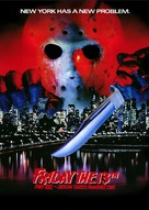 Friday the 13th Part VIII: Jason Takes Manhattan - Movie Poster (xs thumbnail)