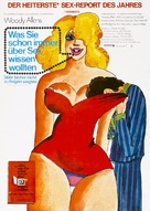 Everything You Always Wanted to Know About Sex * But Were Afraid to Ask - German Movie Poster (xs thumbnail)