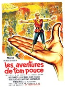 tom thumb - French Movie Poster (xs thumbnail)