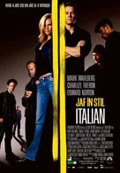 The Italian Job - Romanian Movie Poster (xs thumbnail)