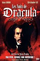 Nachts, wenn Dracula erwacht - French DVD cover (xs thumbnail)