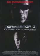 Terminator 3: Rise of the Machines - Spanish Movie Poster (xs thumbnail)