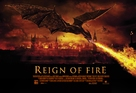 Reign of Fire - British Movie Poster (xs thumbnail)