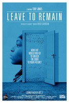 Leave to Remain - Movie Poster (xs thumbnail)