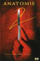 Anatomie 2 - Swedish Movie Cover (xs thumbnail)