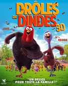 Free Birds - French DVD cover (xs thumbnail)