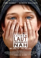 Extremely Loud & Incredibly Close - German Movie Poster (xs thumbnail)