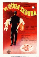 The Red Shoes - Swedish Movie Poster (xs thumbnail)