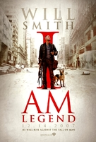 I Am Legend - British Movie Poster (xs thumbnail)