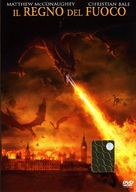 Reign of Fire - Italian Movie Poster (xs thumbnail)