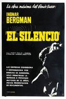 Tystnaden - Argentinian Movie Poster (xs thumbnail)