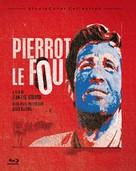 Pierrot le fou - Blu-Ray cover (xs thumbnail)