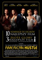 American Hustle - Polish Movie Poster (xs thumbnail)