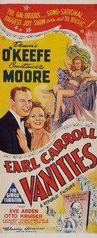 Earl Carroll Vanities - Australian Movie Poster (xs thumbnail)