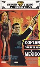 Coplan ouvre le feu à Mexico - French VHS movie cover (xs thumbnail)