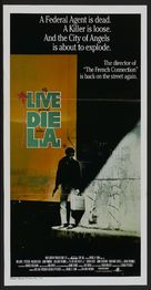 To Live and Die in L.A. - Australian Theatrical movie poster (xs thumbnail)