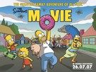 The Simpsons Movie - British Movie Poster (xs thumbnail)