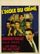 Crime School - Belgian Movie Poster (xs thumbnail)