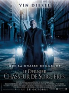 The Last Witch Hunter - French Movie Poster (xs thumbnail)