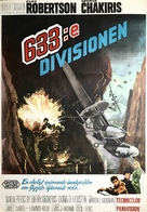633 Squadron - Swedish Movie Poster (xs thumbnail)