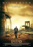 I Am Legend - German Movie Poster (xs thumbnail)
