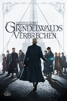 Fantastic Beasts: The Crimes of Grindelwald - German Movie Cover (xs thumbnail)