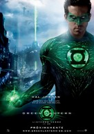 Green Lantern - Spanish Movie Poster (xs thumbnail)