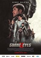 Snake Eyes: G.I. Joe Origins - Slovak Movie Poster (xs thumbnail)