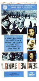 Il generale della Rovere - Italian Movie Poster (xs thumbnail)
