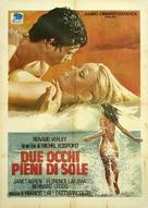 Du soleil plein les yeux - Italian Movie Poster (xs thumbnail)