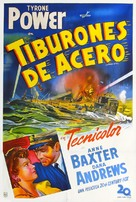 Crash Dive - Argentinian Movie Poster (xs thumbnail)